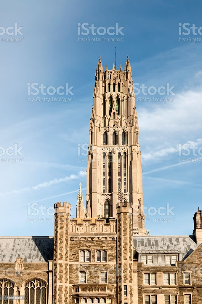 Riverside Church Morning - Manhattan, NYC stock photo