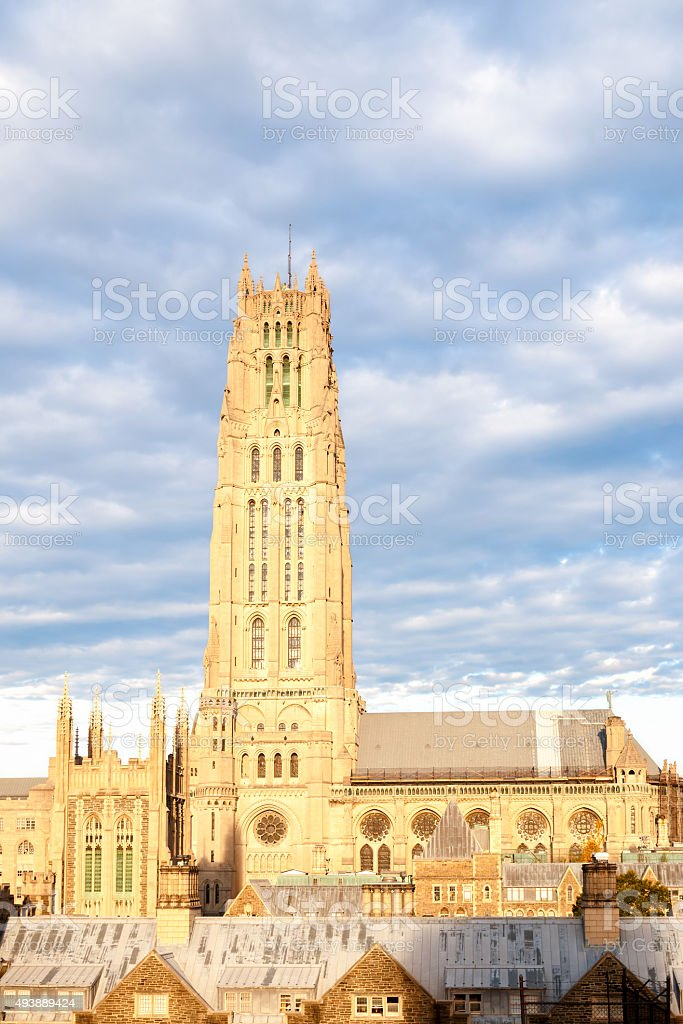 Riverside Church - New York City stock photo
