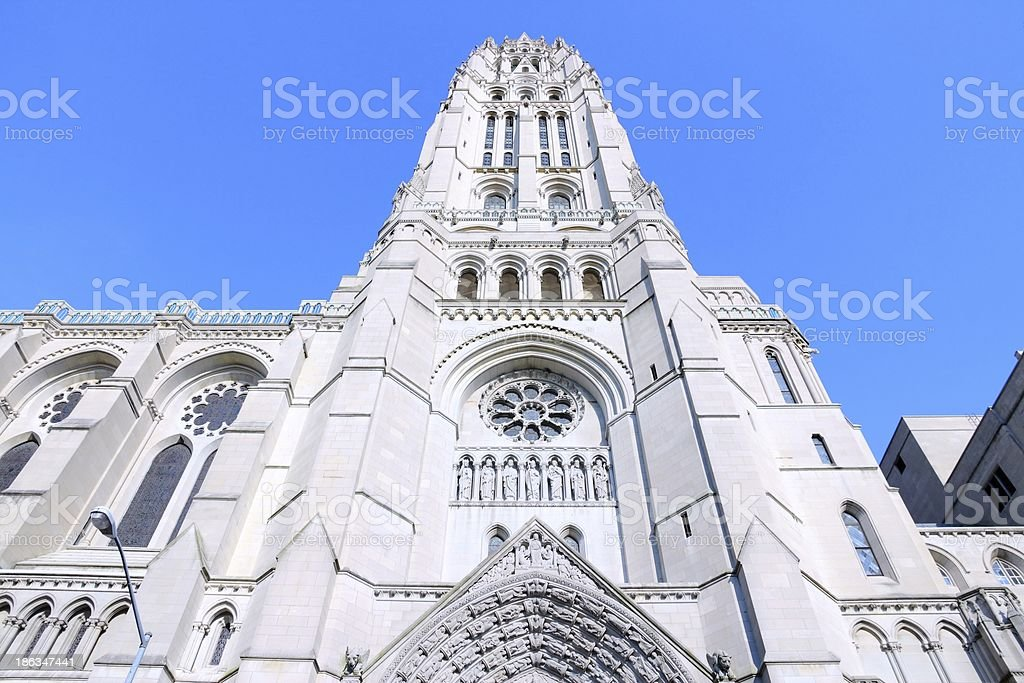 Riverside Church, New York stock photo