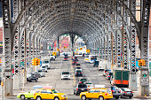 Riverside Drive Viaduct, Harlem, Upper Manhattan, New York City
