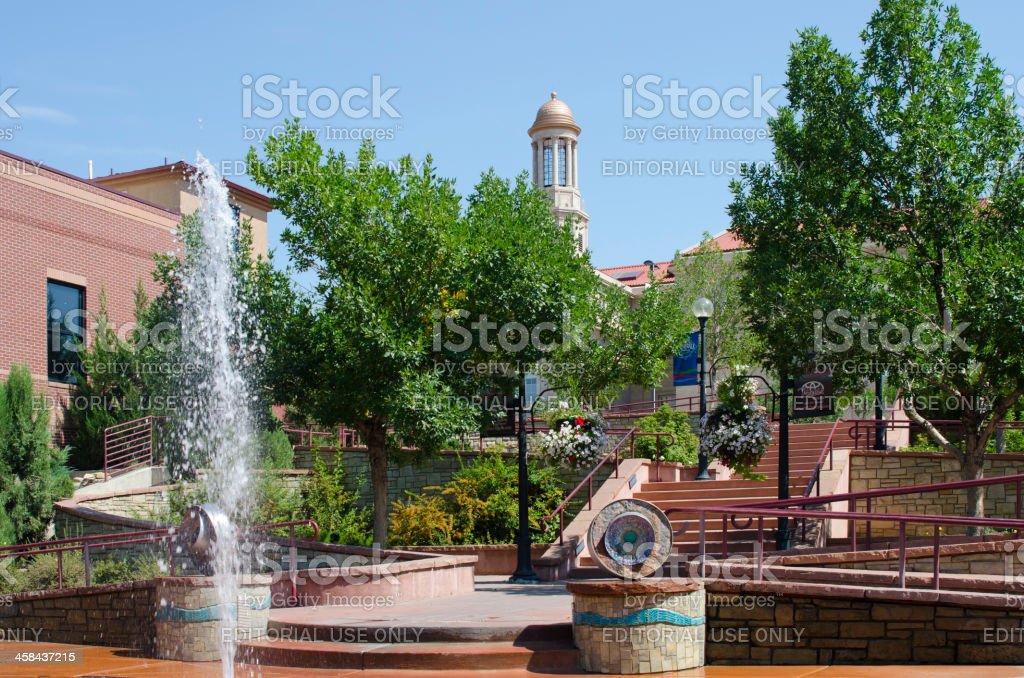 Riverwalk in Pueblo, Colorado stock photo