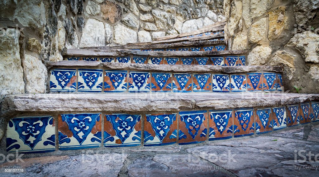 Riverwalk Steps stock photo