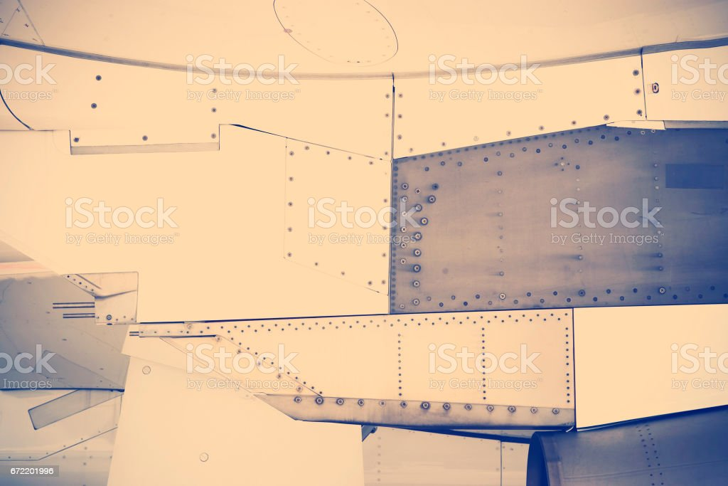 riveted metal background stock photo