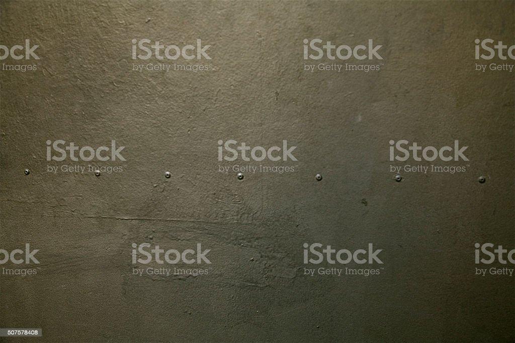 rivets grey iron metal background pattern aluminium steel concrete wall stock photo