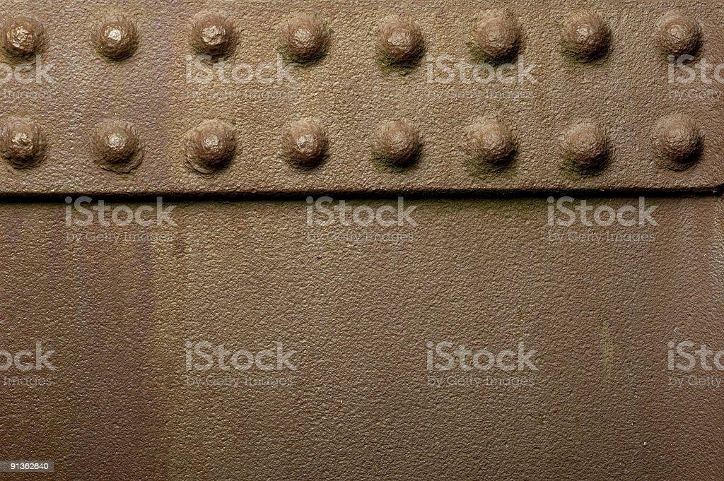 rivets royalty-free stock photo