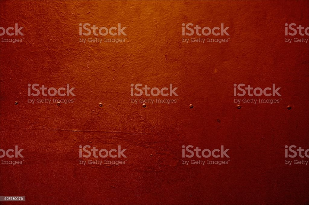 rivets red iron metal background pattern copper steel concrete wall stock photo