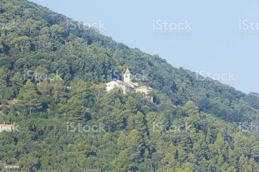 Riviera di Levante in Liguria, Italy royalty-free stock photo