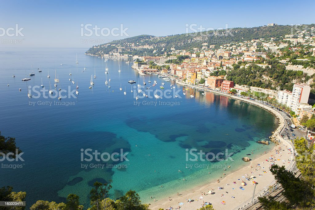 Riviera of France stock photo
