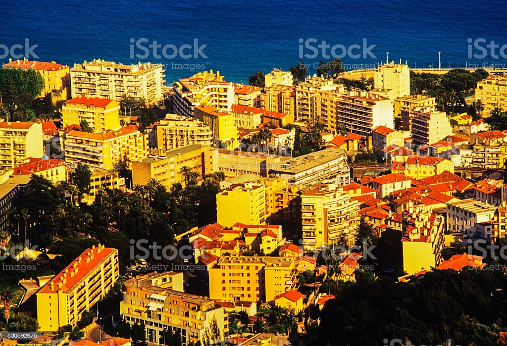 riviera stock photo