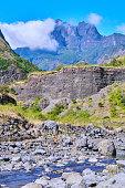 Rivière des Galets Mafate Cirque - Reunion Island