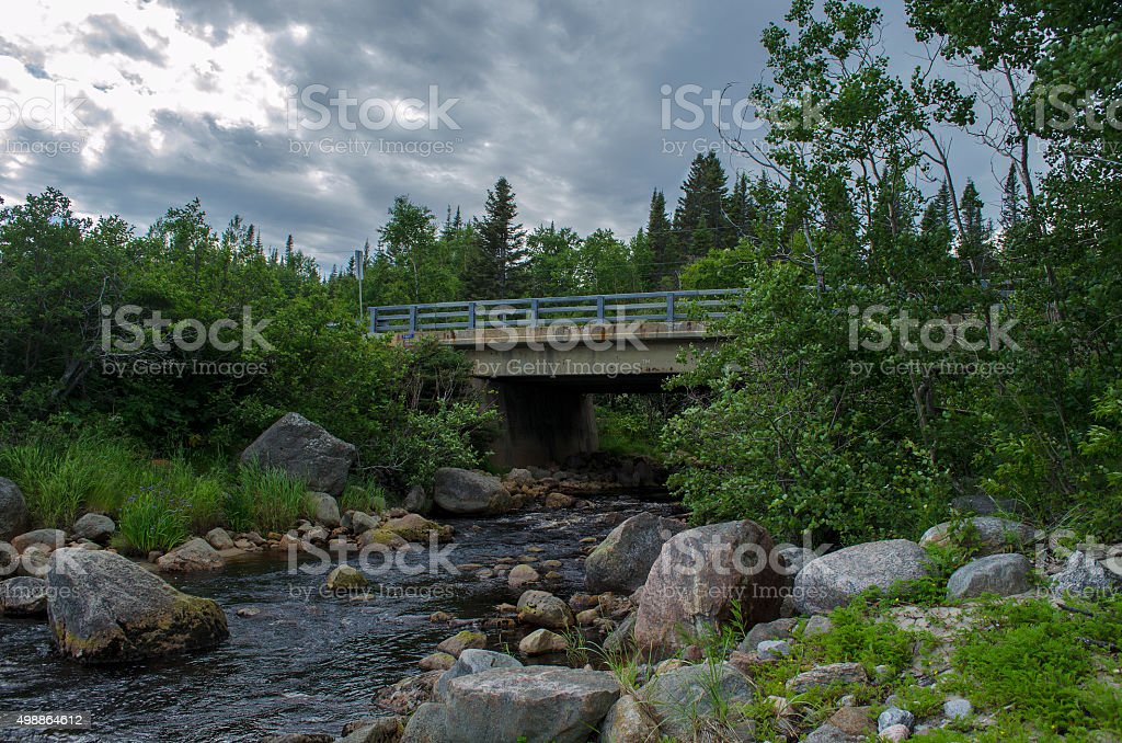 Rivière petit-calumet stock photo