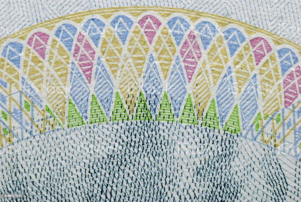 rmb background macro texture stock photo