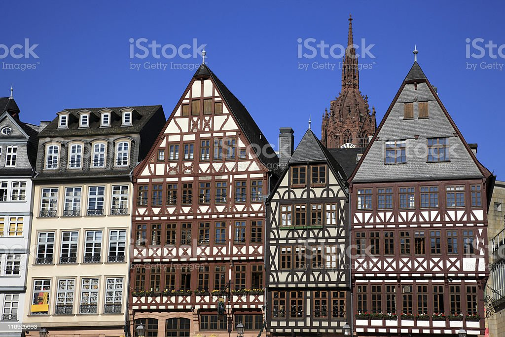 R?merberg, Frankfurt, Germany stock photo