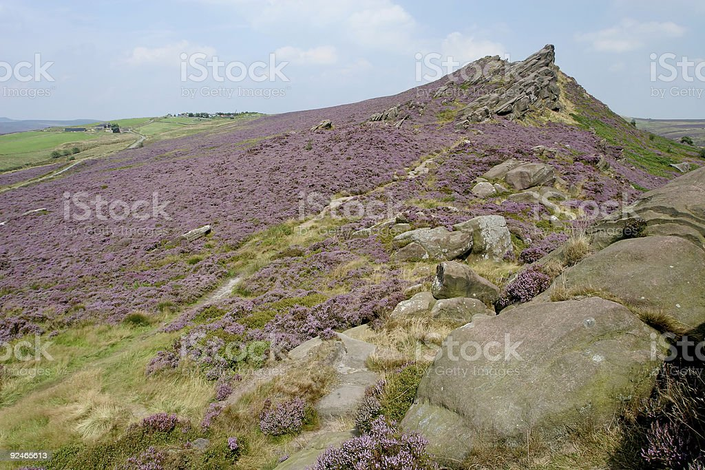 Roaches in the Peak District stock photo