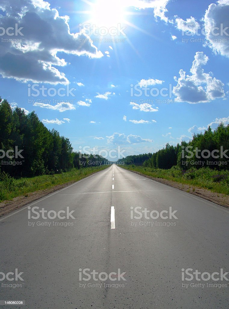 Road 1 royalty-free stock photo