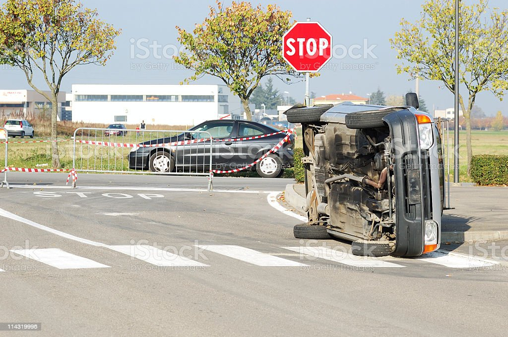 Road Accident royalty-free stock photo