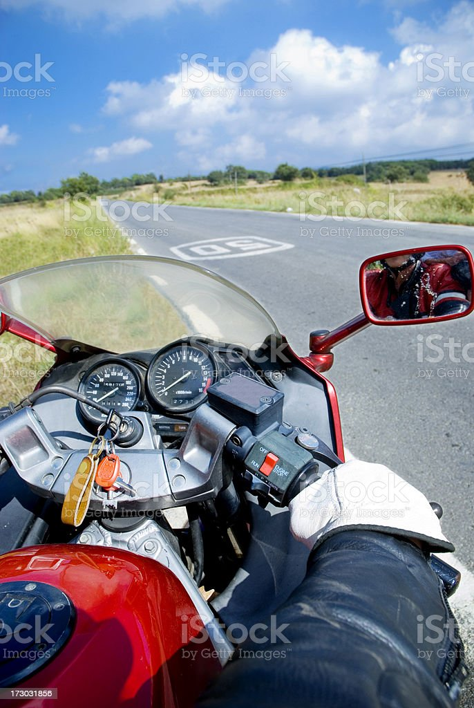 Road ahead royalty-free stock photo