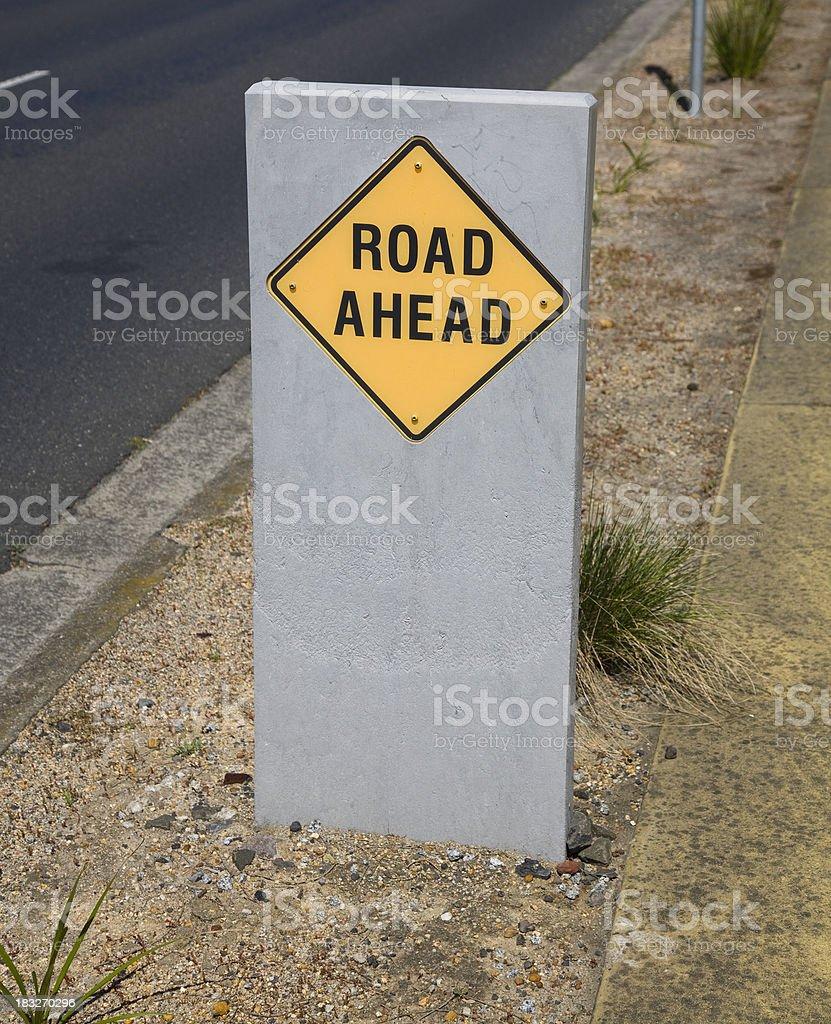 Road Ahead stock photo