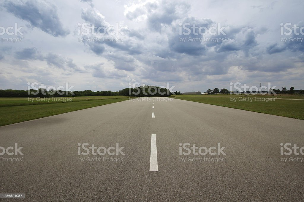 Road and Sky stock photo