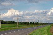 Road at summer day