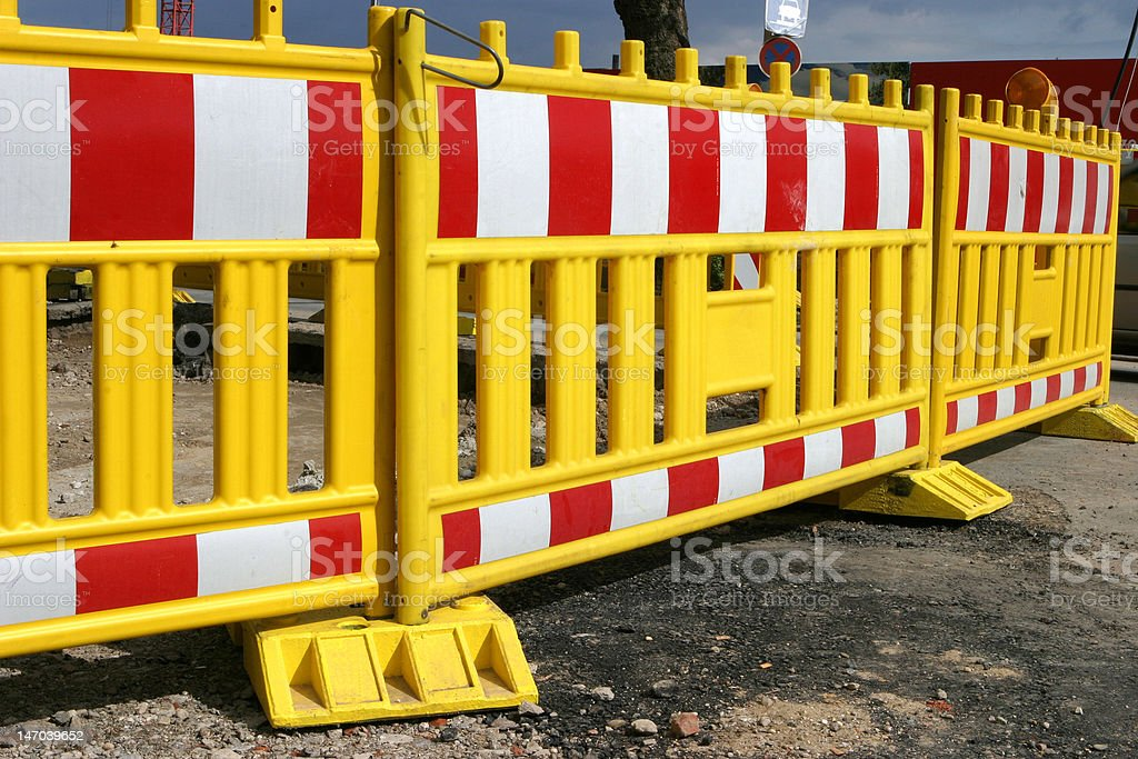 road barrier royalty-free stock photo