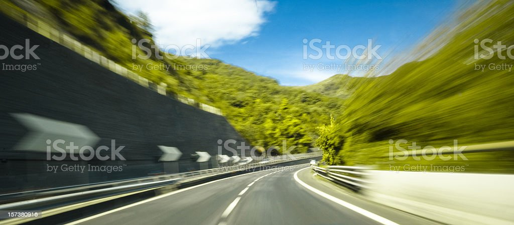 Road Bend stock photo