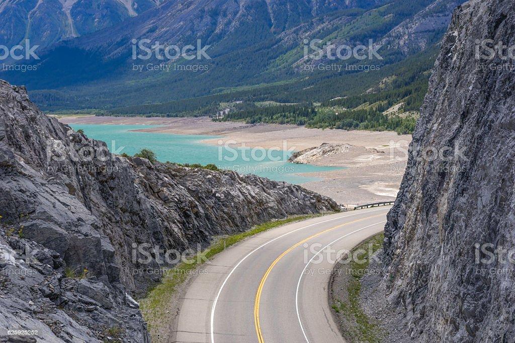 Road Bent stock photo