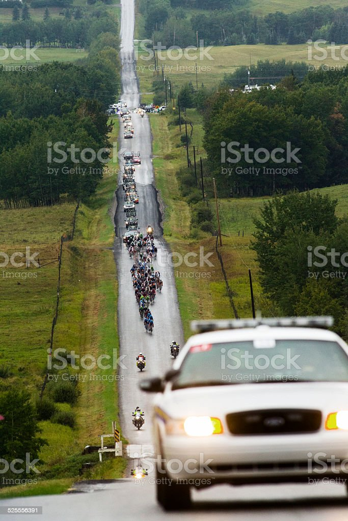 Road Bicycle Race stock photo