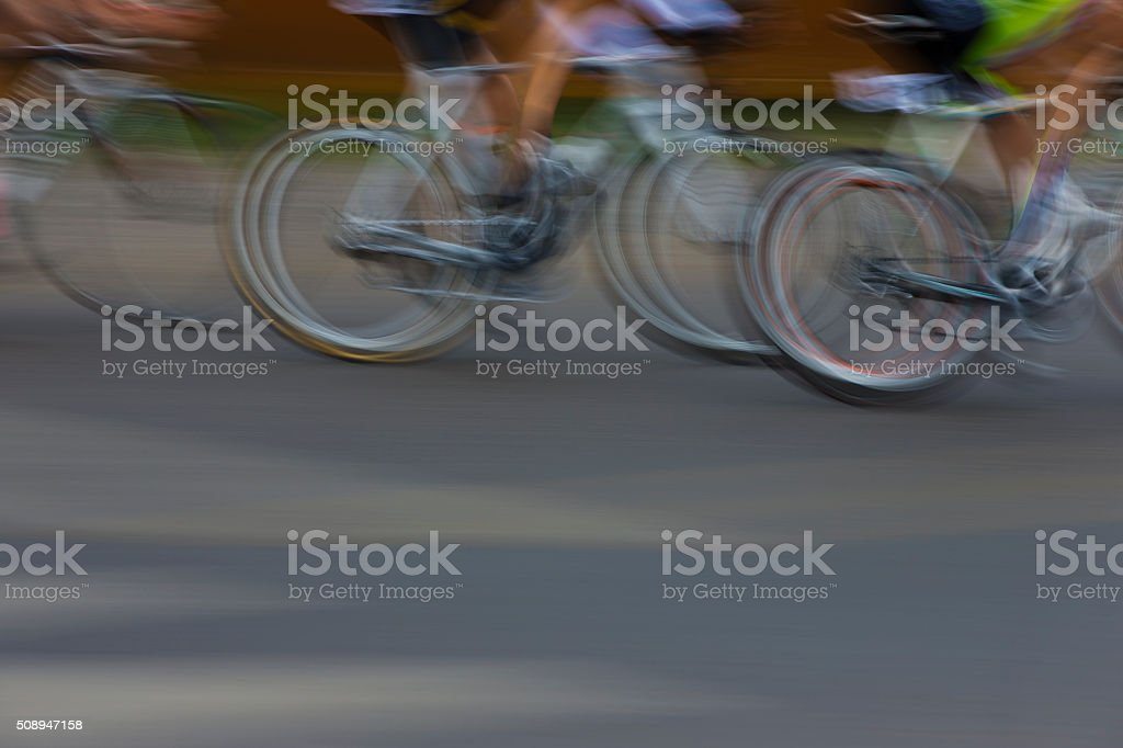 Road Bike Race stock photo