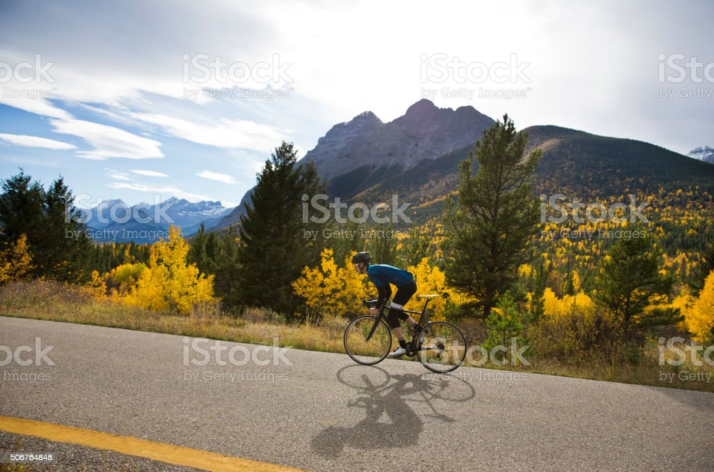 Road Bike Ride stock photo