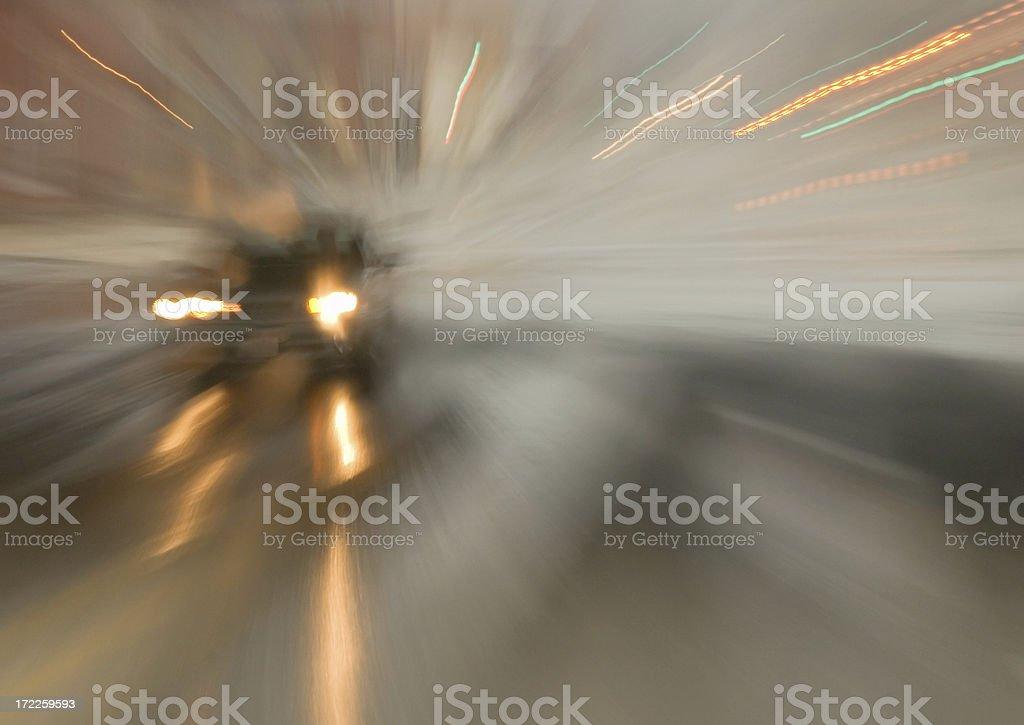 Road Blur royalty-free stock photo