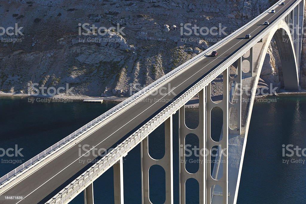 road bridge stock photo