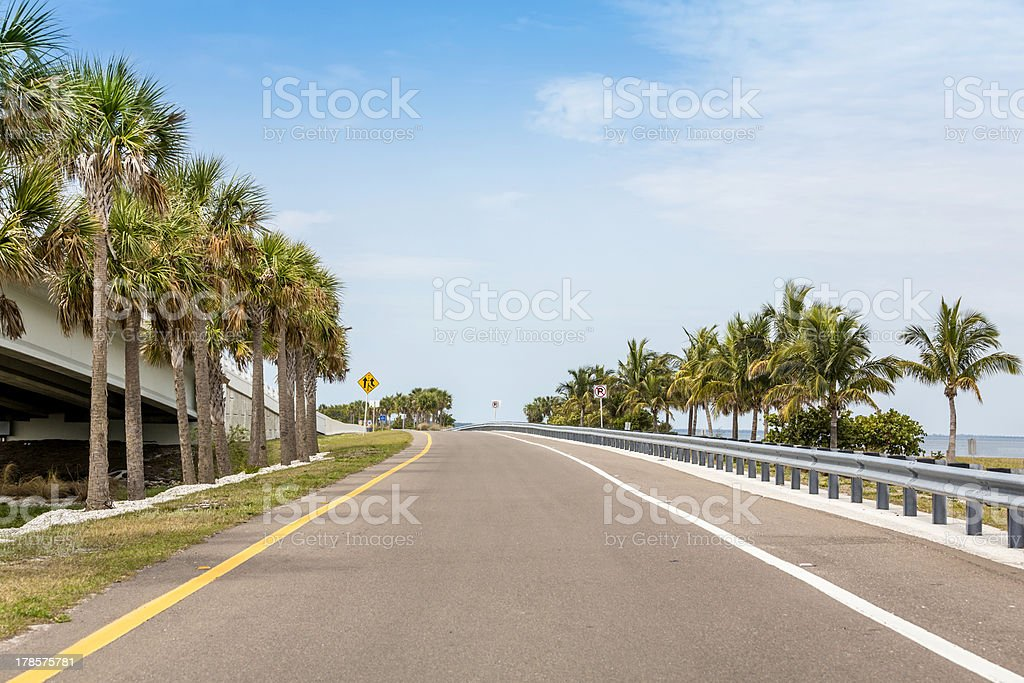 Road by the ocean royalty-free stock photo