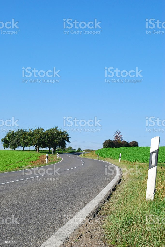 automobiles route royalty-free stock photo