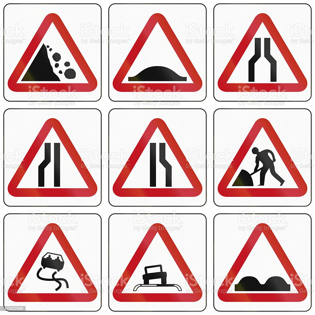 Road Conditions In Brunei stock photo