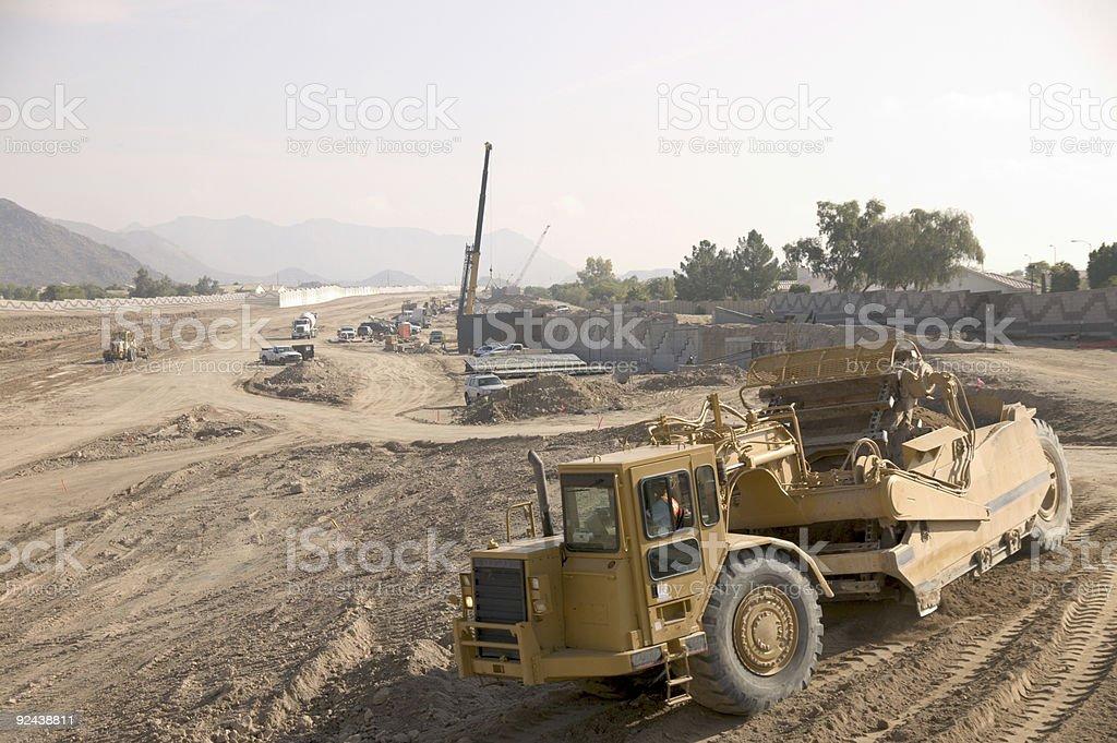 Road construction 2 royalty-free stock photo