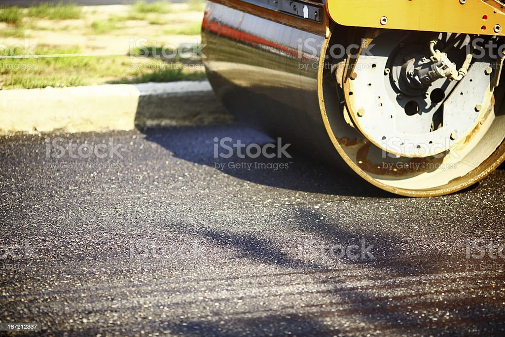 Road construction. royalty-free stock photo