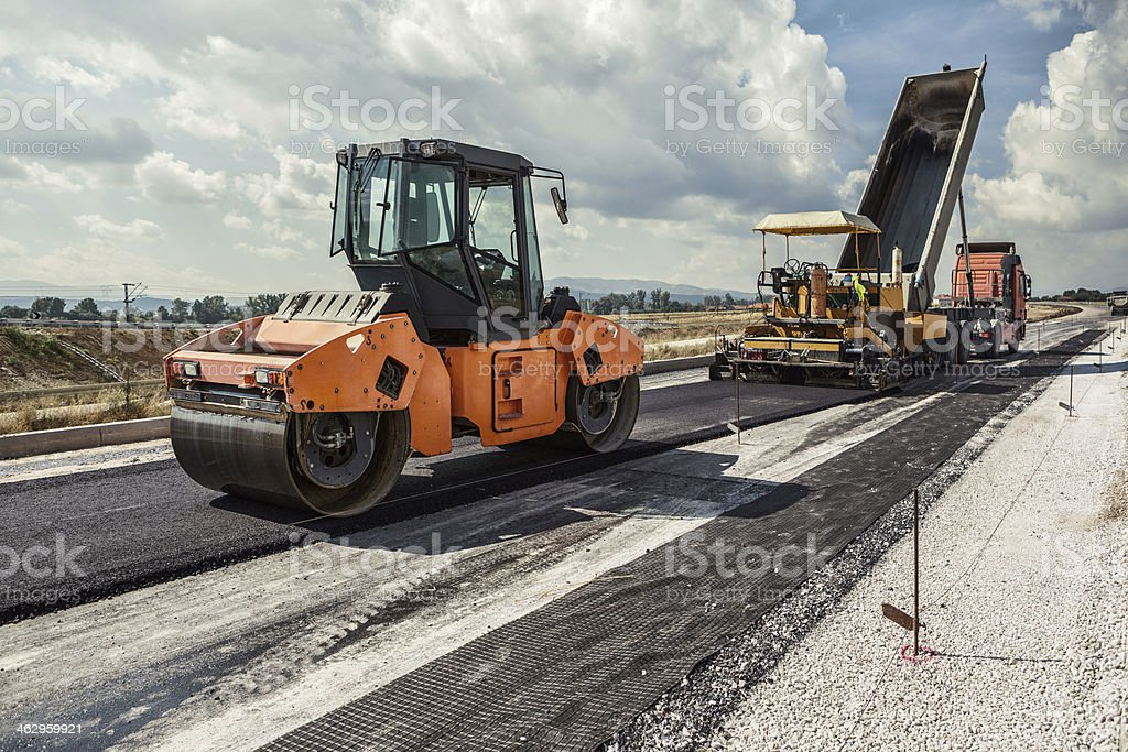 Road Construction stock photo