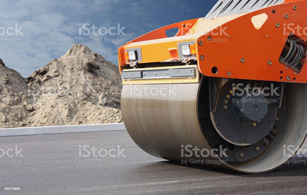 Road construction. royalty-free stock photo