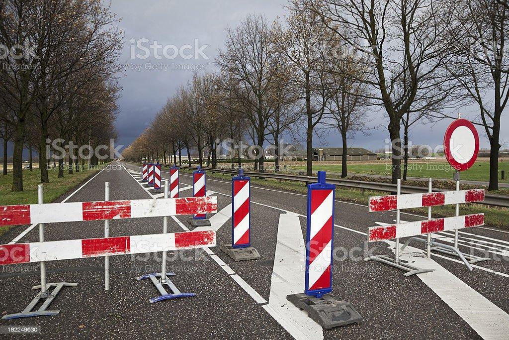 Road construction # 11 XXXL stock photo