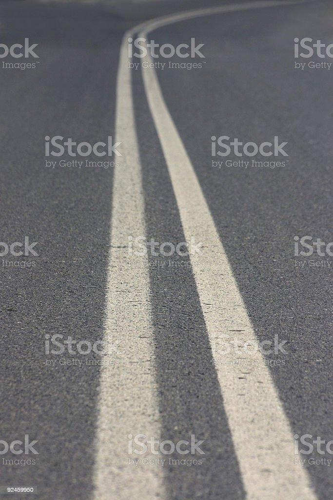 Road corner royalty-free stock photo