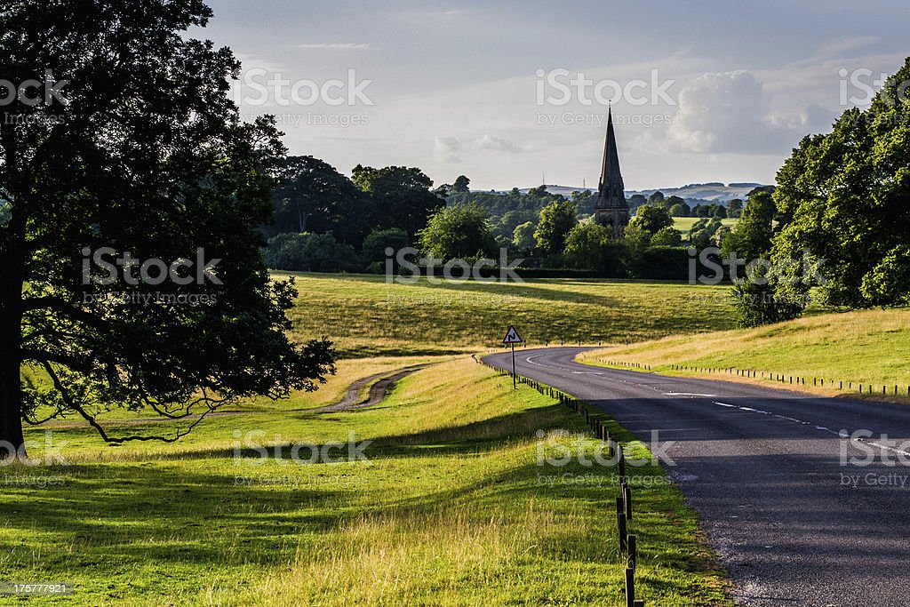 Road countryside royalty-free stock photo