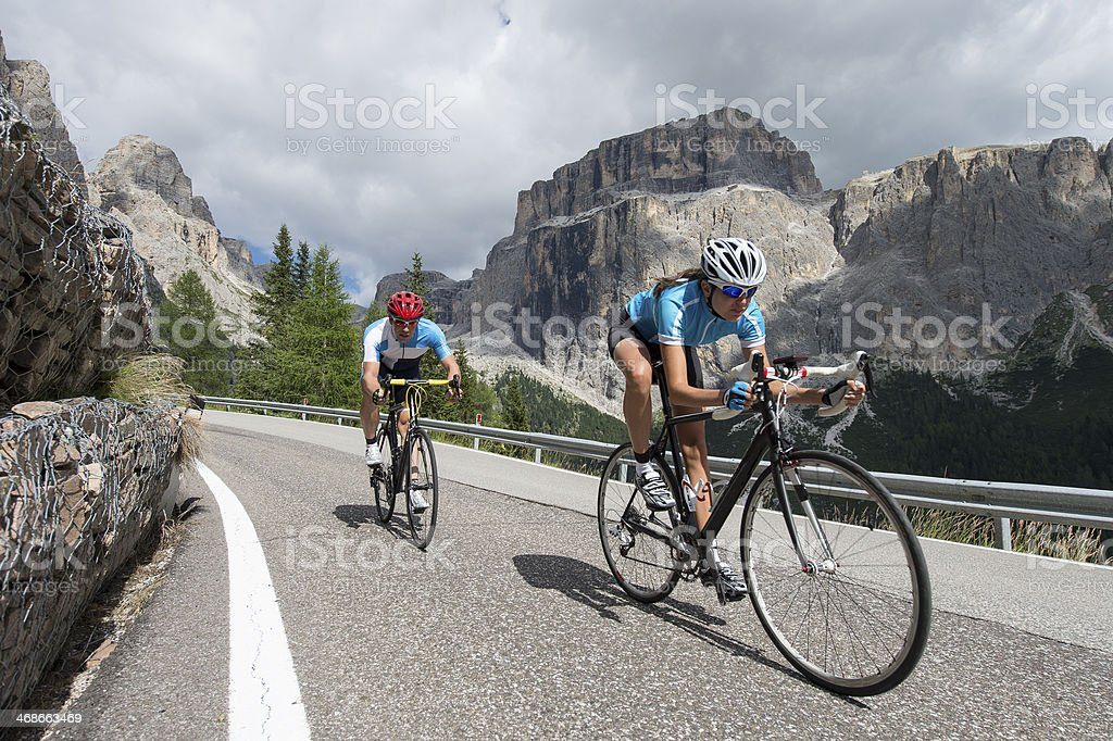 road cycling at the highest level stock photo