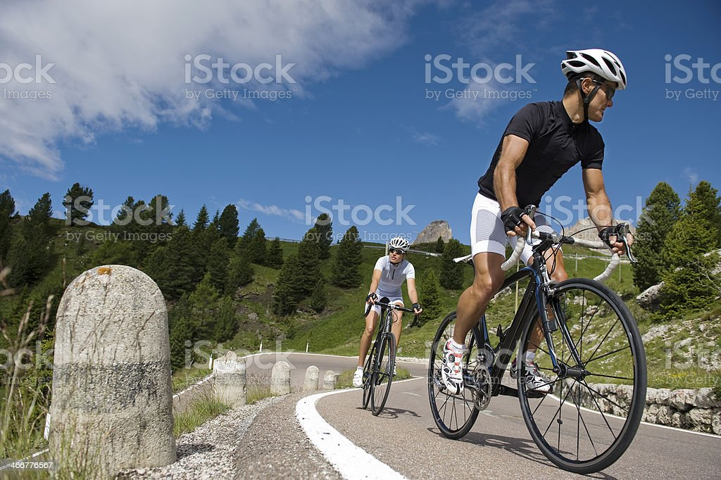 Road cycling Team stock photo