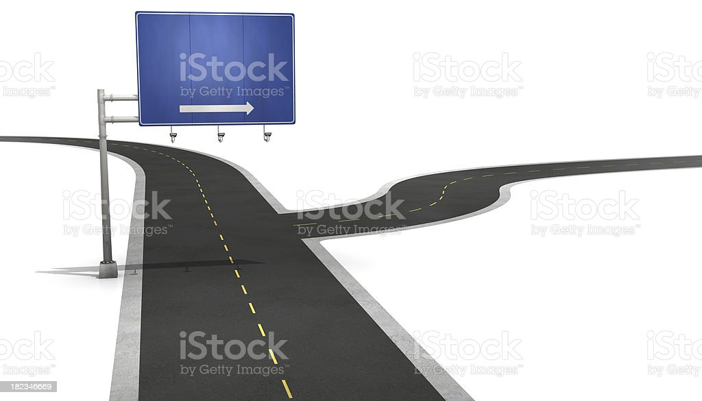 Road directions royalty-free stock photo