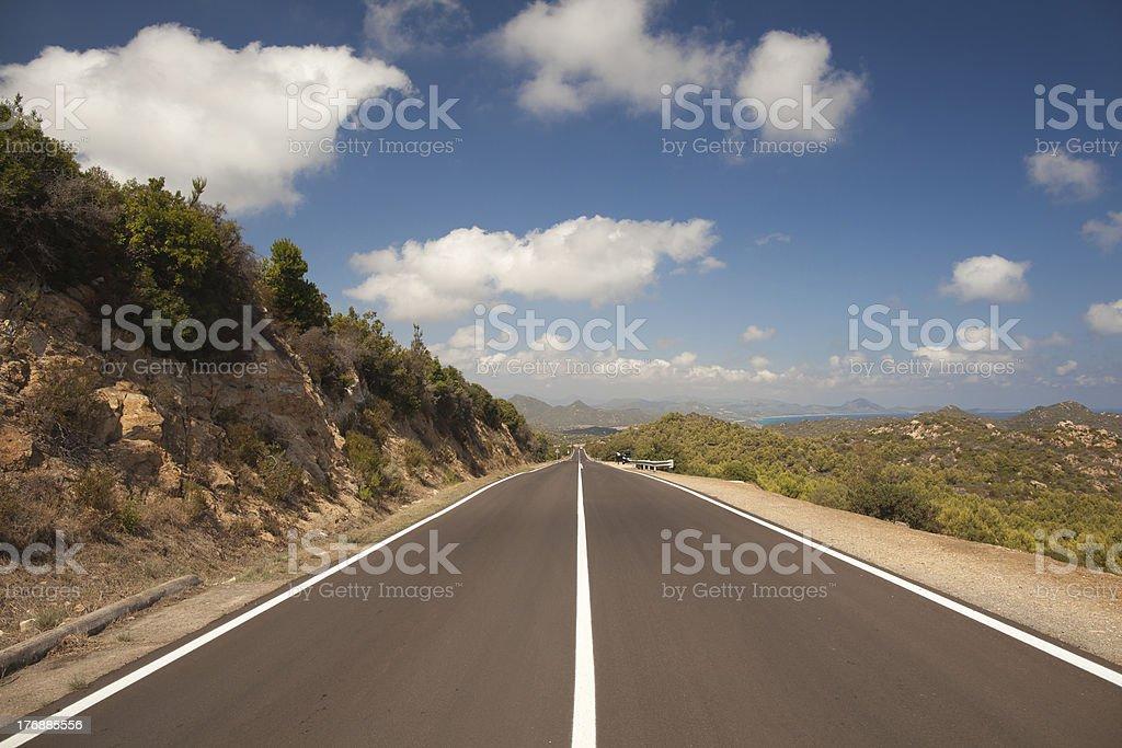 road drive royalty-free stock photo