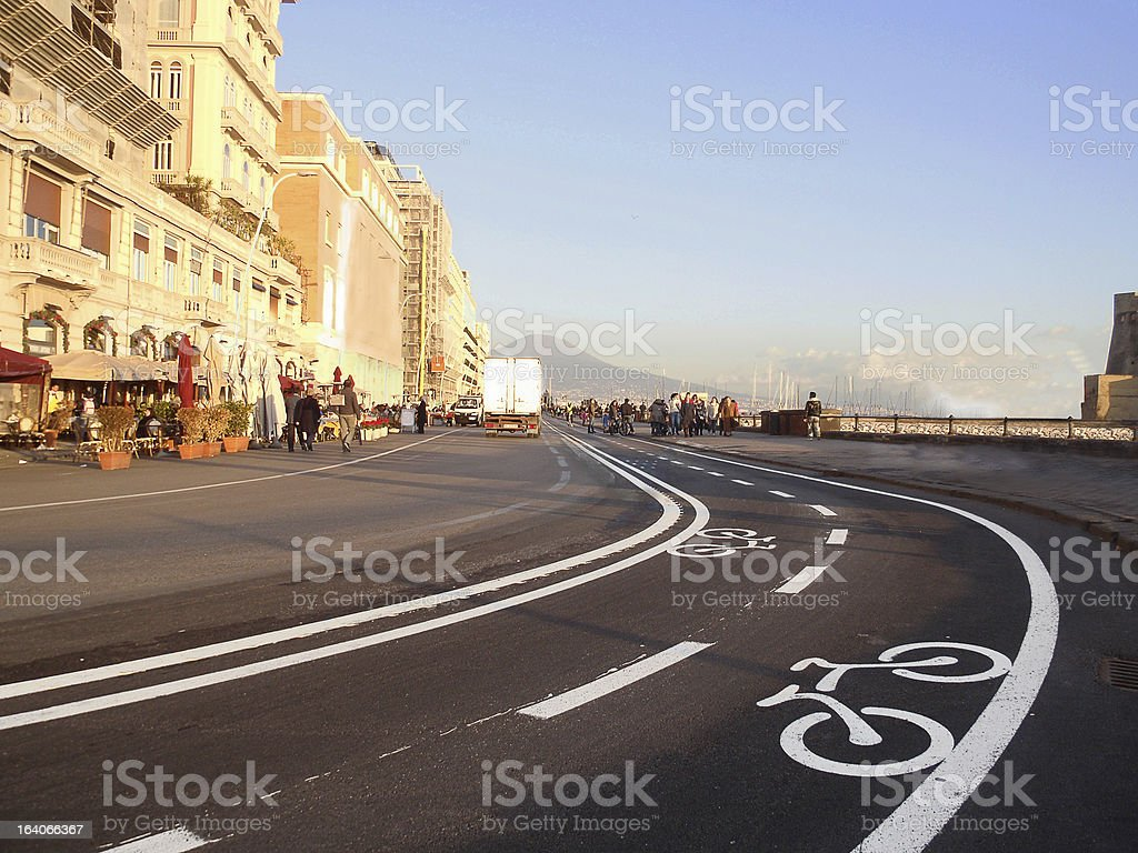 road for bicycles royalty-free stock photo