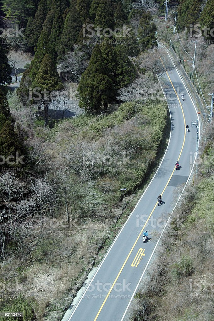 Road from High royalty-free stock photo