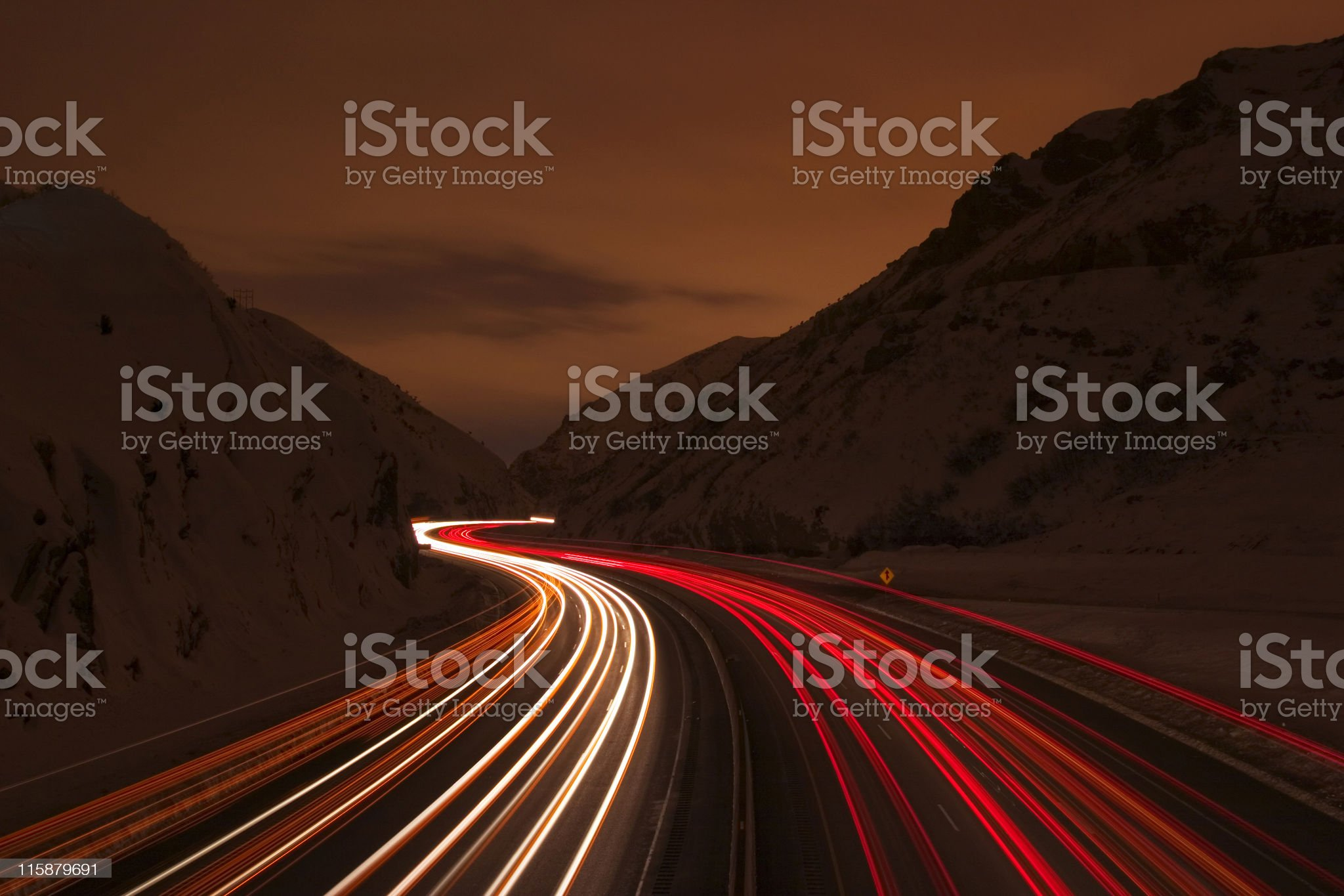 Road from royalty-free stock photo