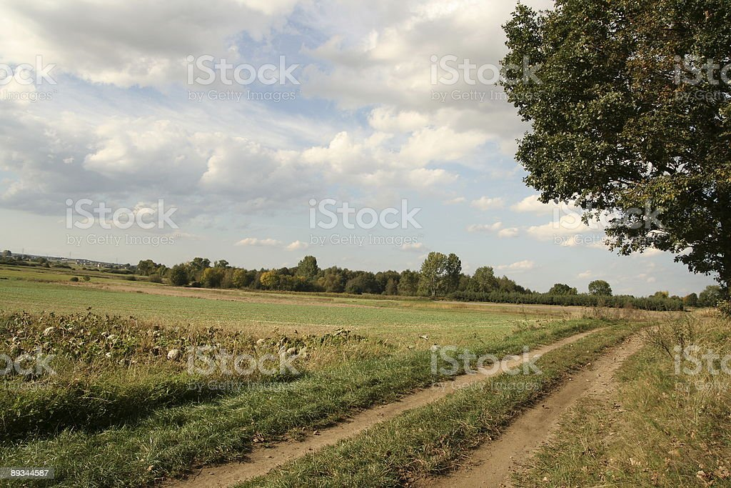 road from with background royalty-free stock photo